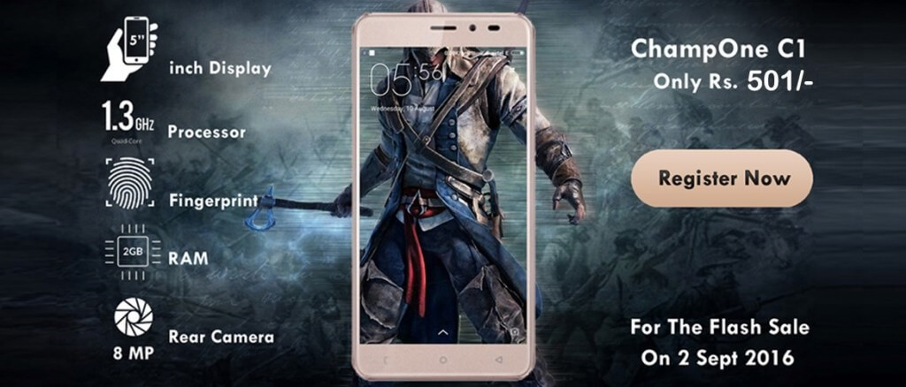 Buy Champone C1 501 Smartphone @ Rs 501