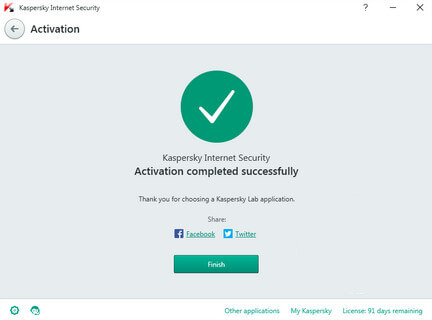 Kaspersky Internet Security 2016 Activation Code