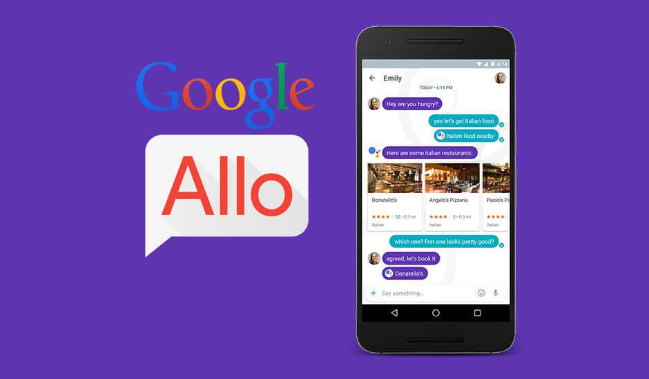 Google Smart Messaging App Allo Features