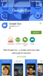 Google Duo The simple video calling App Available