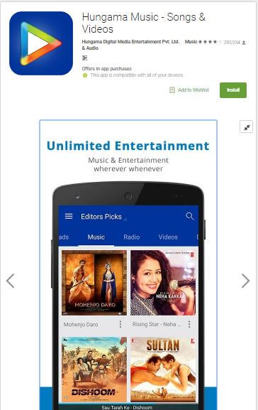 Top Best Online Music Players Apps Android