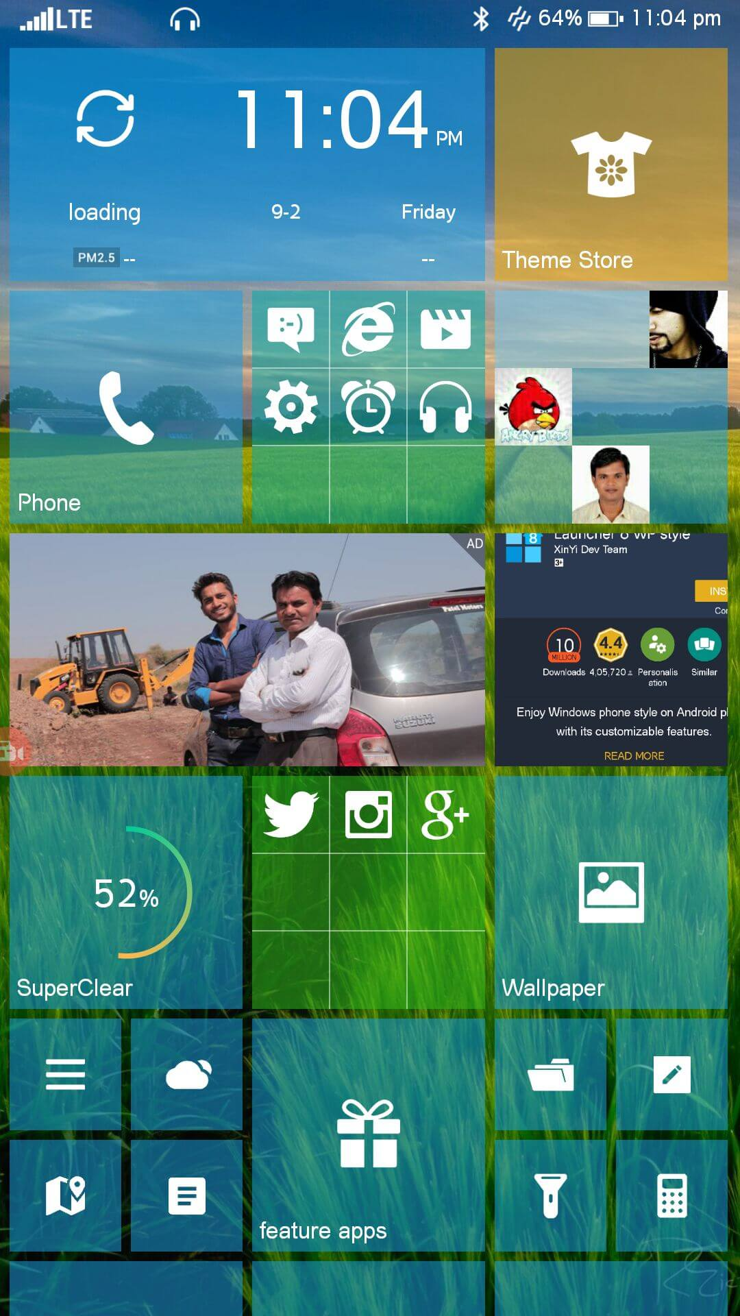 Transform Android Like Windows 8 Free