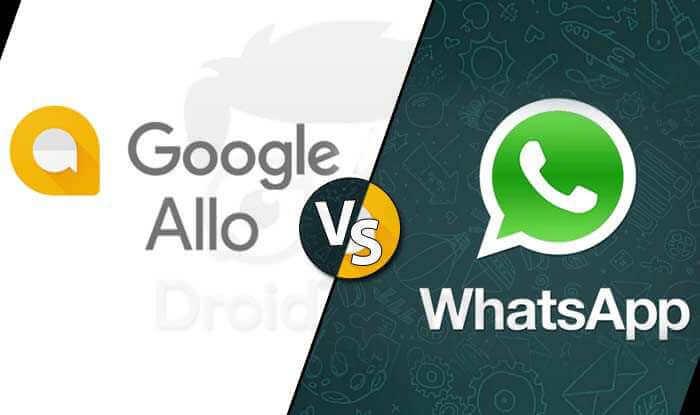 Top 5 Reasons Google Allo Better than Whatsapp