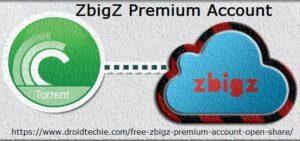 Zbigz Premium Account Open Share
