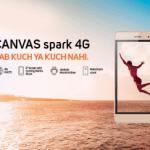 Micromax Canvas Spark 4G Budget Smartphone