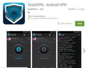 DrpidVpn Best Free VPN Apps for Android 2017