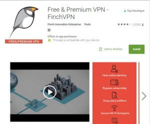Finch Vpn Best Free VPN Apps for Android 2017