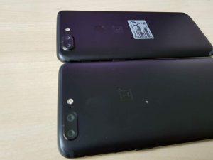 OnePlus 5T vs OnePlus 5 Fingerprint comparison