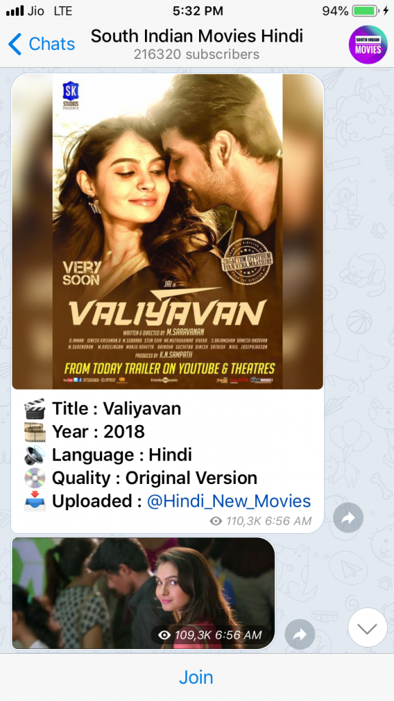 How to join popular web series South Indian Telegram groups.